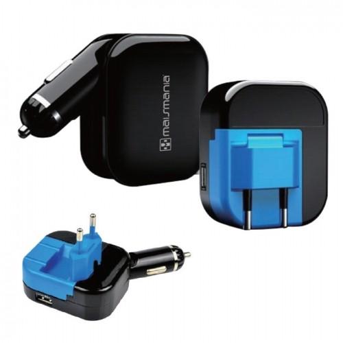 Adaptador de energia universal DUAL USB modelo 726