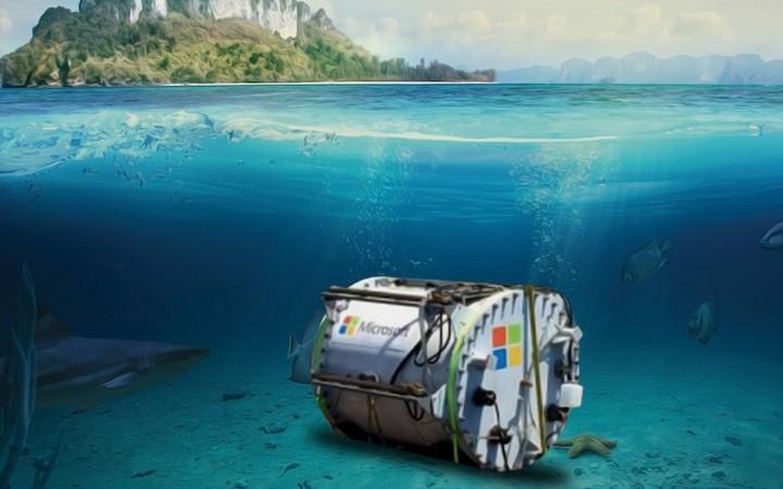 Microsoft: Aproveitando as águas dos oceanos