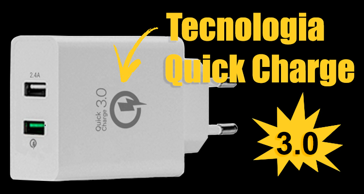 CONHEÇA A TECNOLOGIA QUICK CHARGE QC3.0
