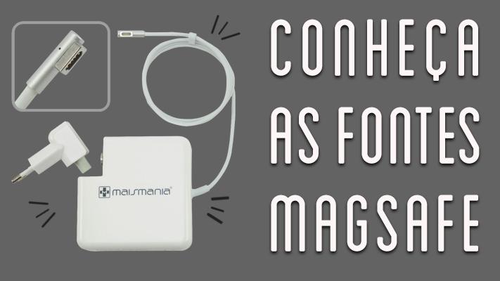 Como saber a fonte de alimentação adequada para Macbooks?